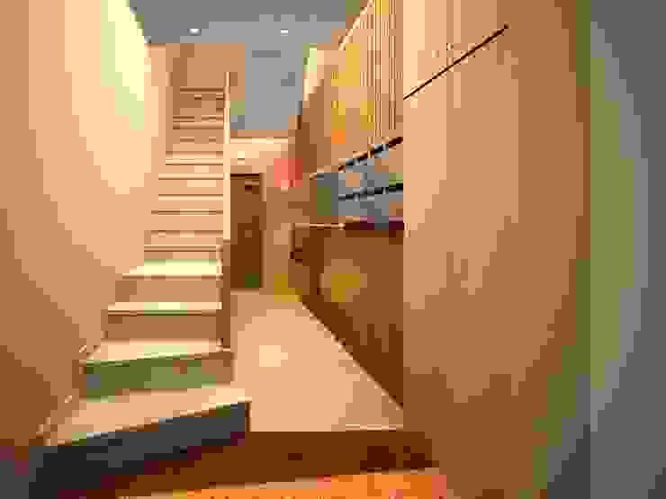 Renders. 3D. Vestibulo. Hall. de Brick Serveis d'Interiorisme S.L.