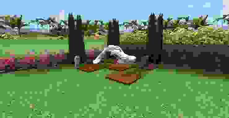 MANDARIN ORIENTAL – PEYZAJ PROJE & UYGULAMA // MANDARIN ORIENTAL – LANDSCAPE PROJECT&APPLICATION Modern Bahçe AYTÜL TEMİZ LANDSCAPE DESIGN Modern Ahşap Ahşap rengi