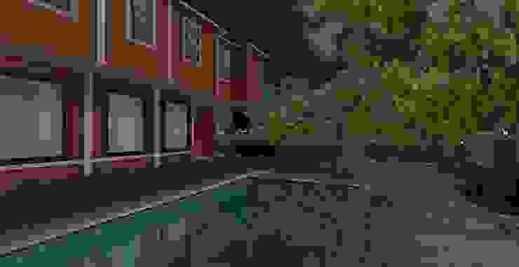 Jardin moderne par AYTÜL TEMİZ LANDSCAPE DESIGN Moderne
