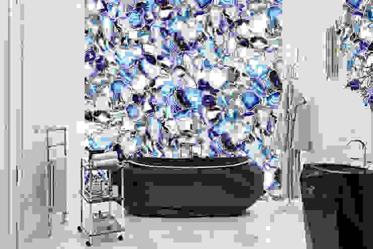 Residence in the Italian countryside Ванная комната в эклектичном стиле от Diff.Studio Эклектичный