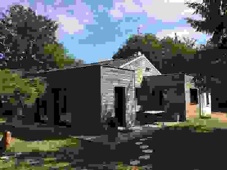 現代房屋設計點子、靈感 & 圖片 根據 homify 現代風 木頭 Wood effect