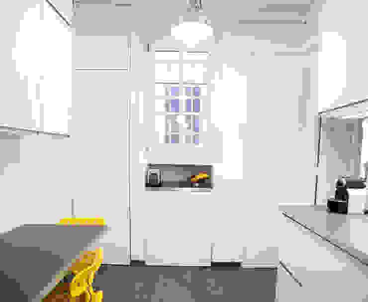 Cozinhas modernas por homify Moderno Madeira Efeito de madeira