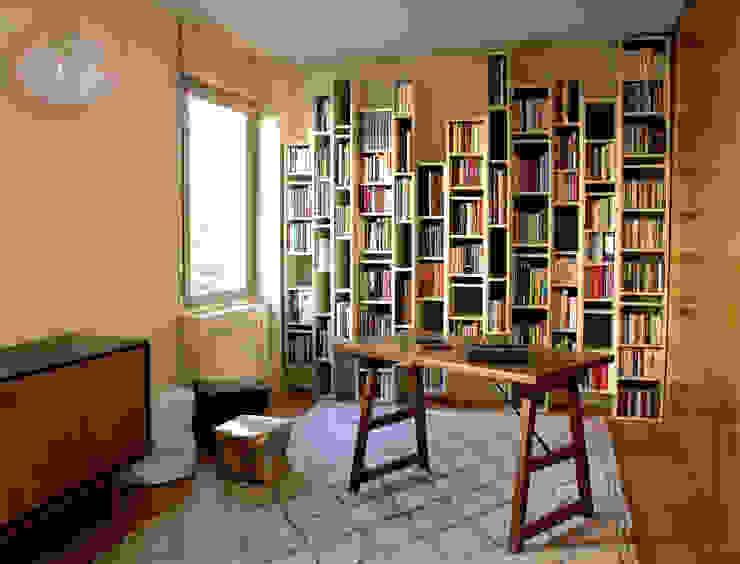 Despacho Estudios y despachos de estilo moderno de Ines Benavides Moderno