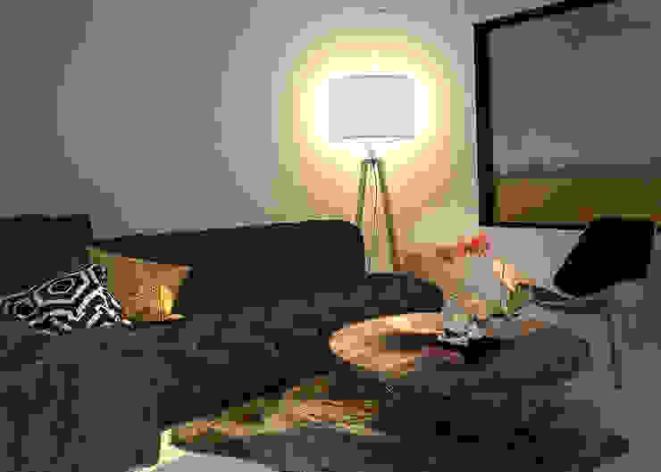 غرفة المعيشة تنفيذ Rotoarquitectura, إسكندينافي