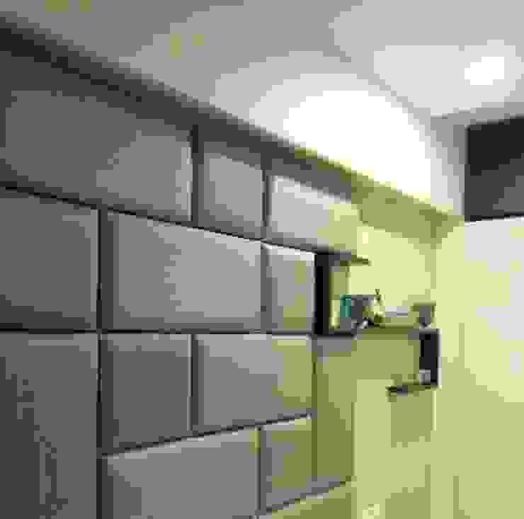 Projekty,  Ściany i podłogi zaprojektowane przez Neha Changwani,