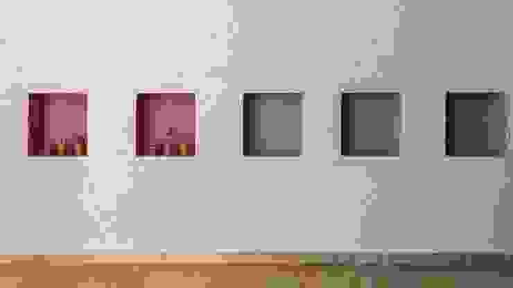 CASA B532 Jardines modernos: Ideas, imágenes y decoración de KARLEN + CLEMENTE ARQUITECTOS Moderno Concreto reforzado