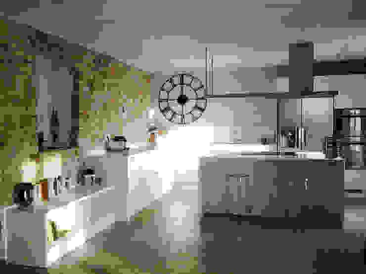 Cucina R. Cucina in stile rustico di ArcKid Rustico