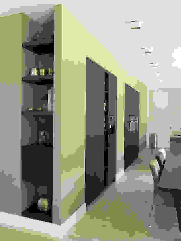 Landhuis inrichting: modern  door Houtbewerking WKH Interieurbouw, Modern Massief hout Bont