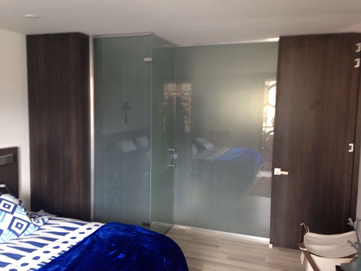 PROYECTO MOBILIARIO HOGAR – APARTAMENTO Habitaciones modernas de La Carpinteria - Mobiliario Comercial Moderno