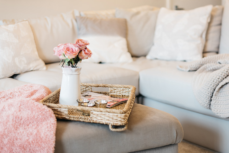 French Shabby Chic Living Room Katie Malik Interiors Modern living room