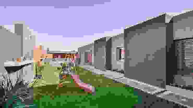 Jardines de estilo moderno de KARLEN + CLEMENTE ARQUITECTOS Moderno Concreto reforzado