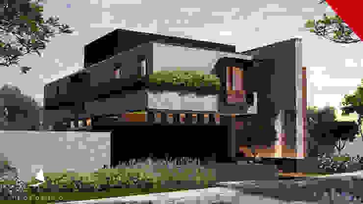 Casa Guadalajara Casas eclécticas de Tectónico Ecléctico