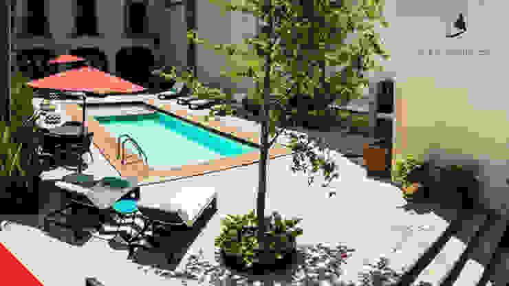 Hotel Mesón de Santa Rosa Piscinas coloniales de Tectónico Colonial