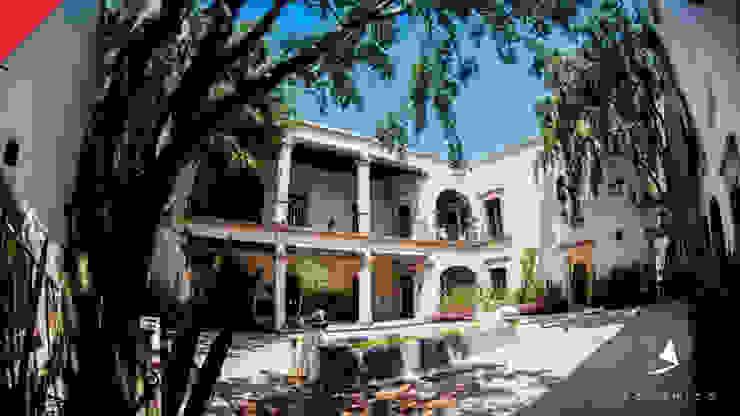 Hotel Mesón de Santa Rosa Jardines coloniales de Tectónico Colonial