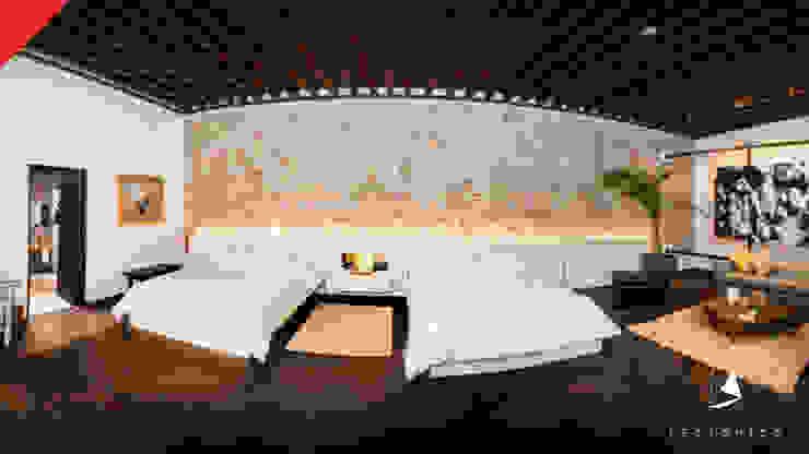 Hotel Mesón de Santa Rosa Dormitorios coloniales de Tectónico Colonial