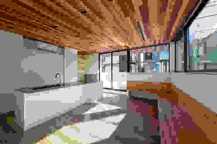 設計事務所アーキプレイス Salle à manger moderne