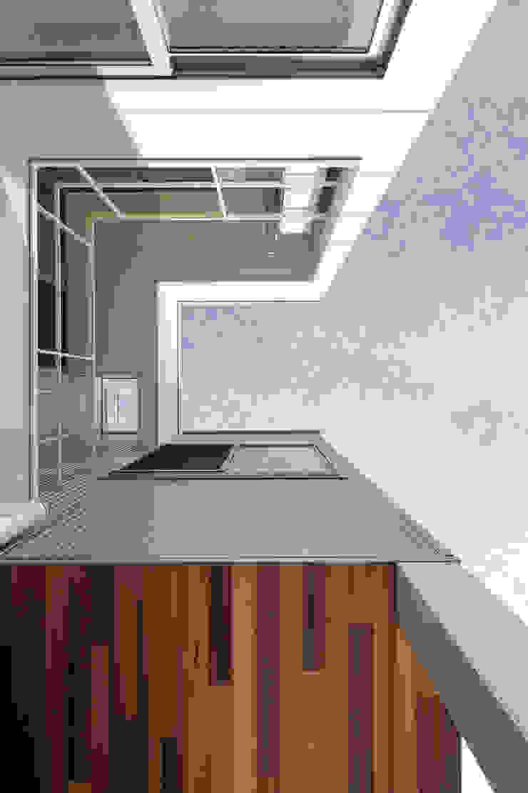 設計事務所アーキプレイス Balcon, Veranda & Terrasse modernes