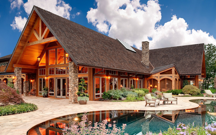 Стремимся к природе Дома в скандинавском стиле от 1Smart-Home Скандинавский