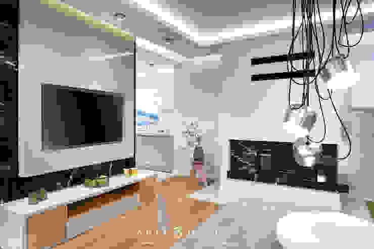 Dom w Mechelinkach: styl , w kategorii Salon zaprojektowany przez Arte Dizain. Agnieszka Hajdas-Obajtek,Nowoczesny