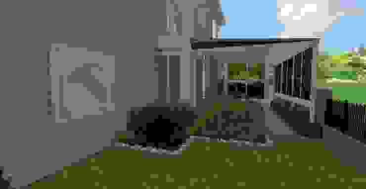 GÜZELŞEHİR VİLLALARI-PEYZAJ PROJE // GUZELSEHIR VILLA – LANDSCAPE PROJECT Modern Bahçe AYTÜL TEMİZ LANDSCAPE DESIGN Modern
