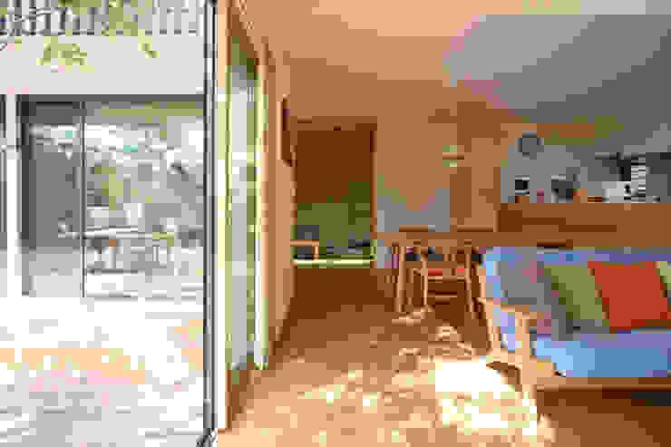 Modern Living Room by 設計事務所アーキプレイス Modern
