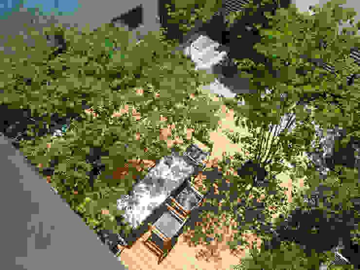 Jardines de estilo moderno de 設計事務所アーキプレイス Moderno