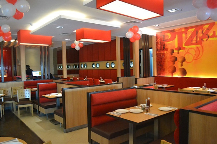Restaurant: asian  by Design Atellier,Asian Engineered Wood Transparent