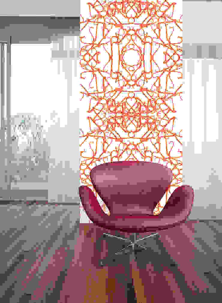 Filigrana Coral por OH Wallpaper Moderno Papel