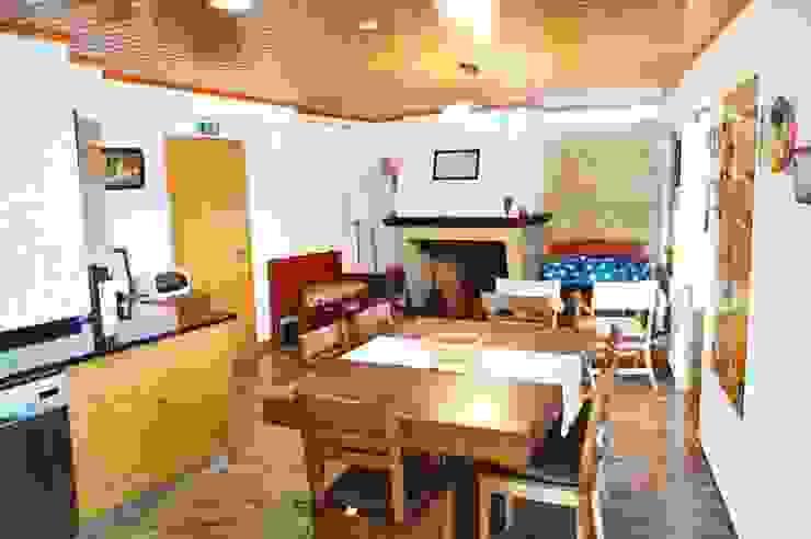 Casa de Campo das Sécias Cozinhas rústicas por MHPROJECT Rústico
