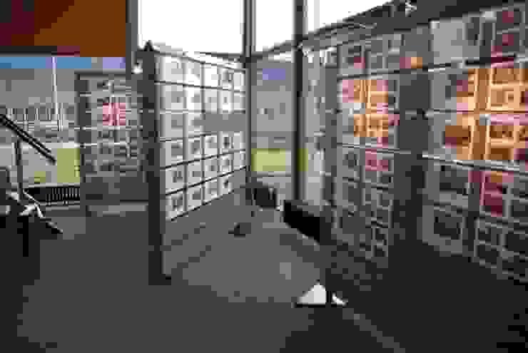 Interieur Makelaar Dijkstra Heida Moderne kantoorgebouwen van Dick de Jong Interieurarchitekt Modern