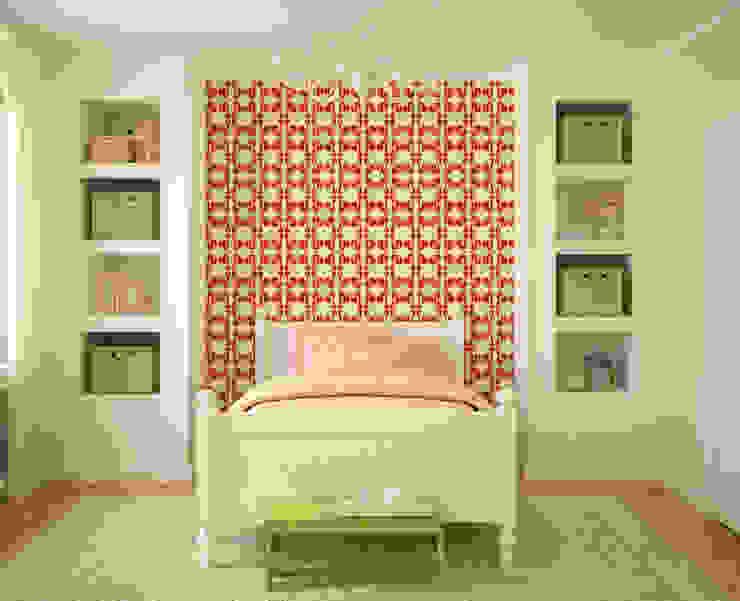 Galo Vermelho por OH Wallpaper Moderno Papel