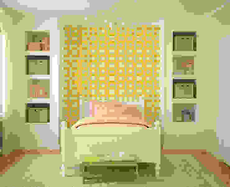 Galo Amarelo por OH Wallpaper Moderno Papel