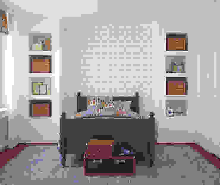 Galo Azul Claro por OH Wallpaper Moderno Papel