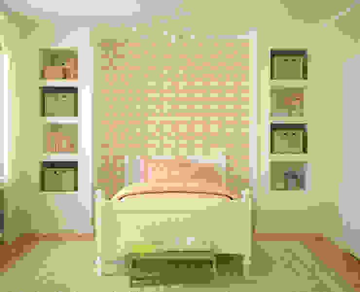 Galo Rosa Claro por OH Wallpaper Moderno Papel