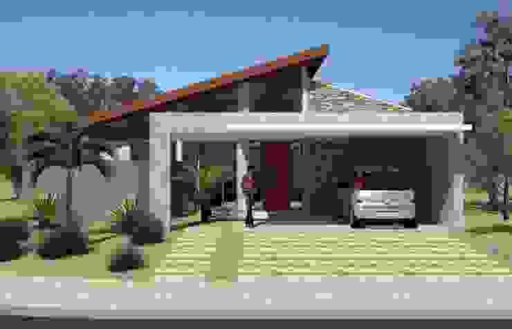 Residência PHP Hamilton Turola Arquitetura e Design Casas modernas