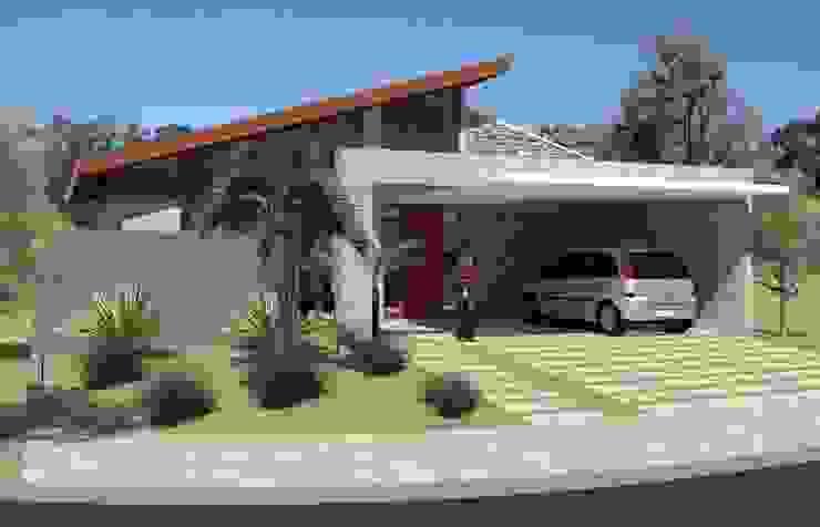 Casas de estilo  por Hamilton Turola Arquitetura e Design,
