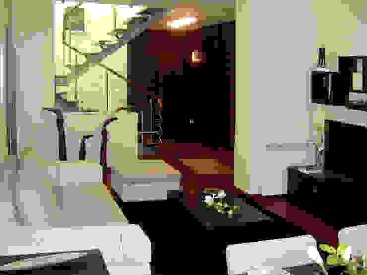 Sala de estar Salas de estar modernas por Construções Couto Monteiro Moderno