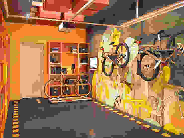 Nhà để xe/nhà kho phong cách hiện đại bởi Bronx Hiện đại