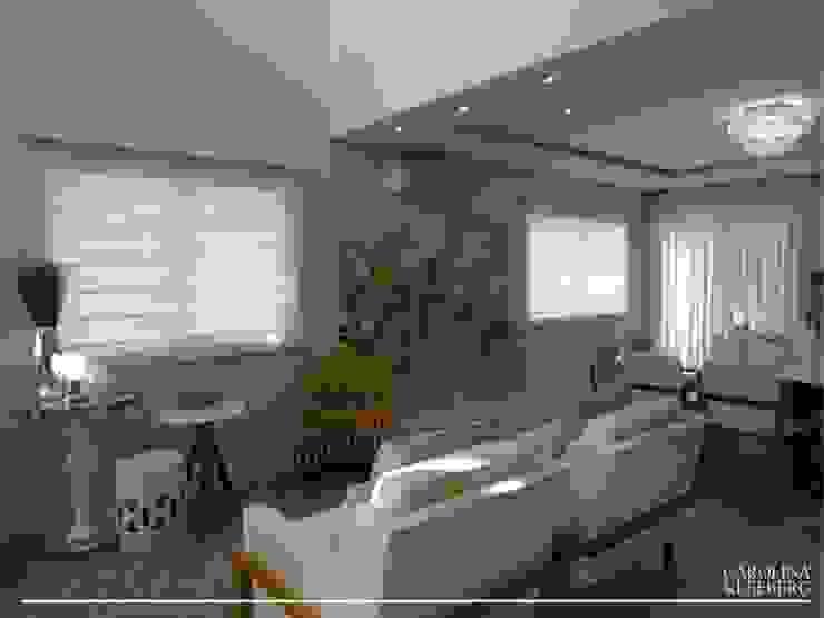 Salas de estilo moderno de CAROLINA KLEEBERG Moderno
