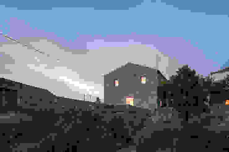 casa das Nogueiras Casas modernas por par-do Moderno