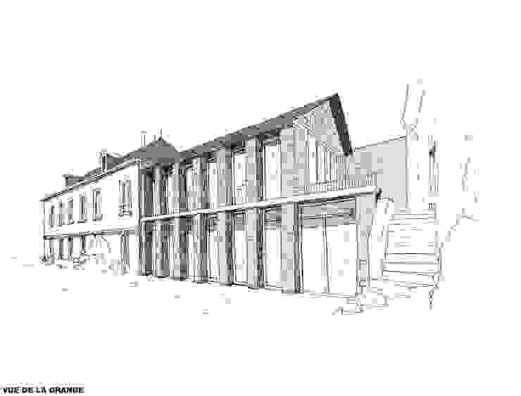 Belle Ville Atelier d'Architecture Classic style houses