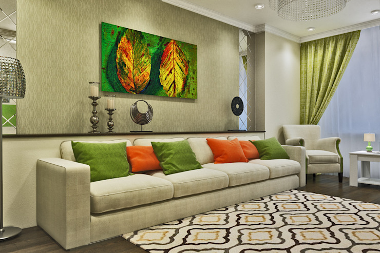 Гостиная Гостиная в стиле модерн от Pure Design Модерн