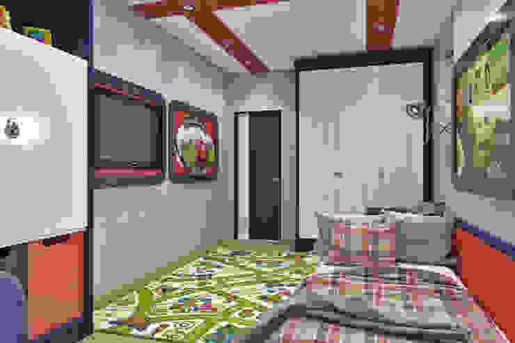 Вид на вход Детская комната в стиле модерн от Pure Design Модерн
