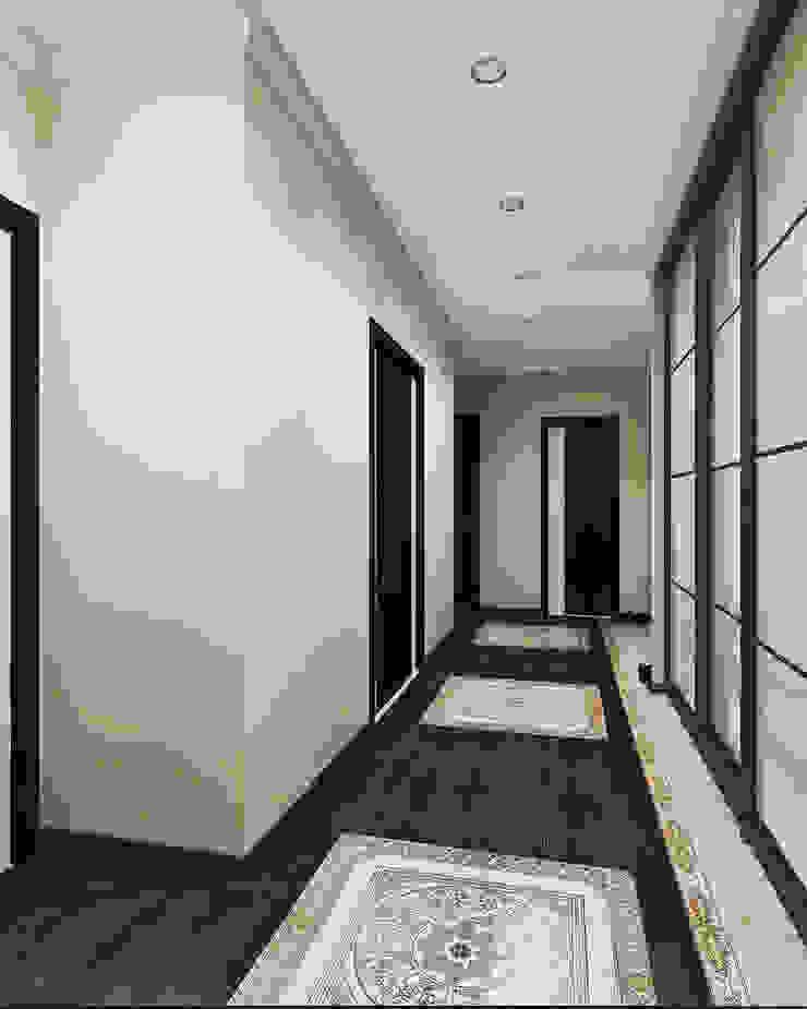 Прихожая Коридор, прихожая и лестница в модерн стиле от Pure Design Модерн