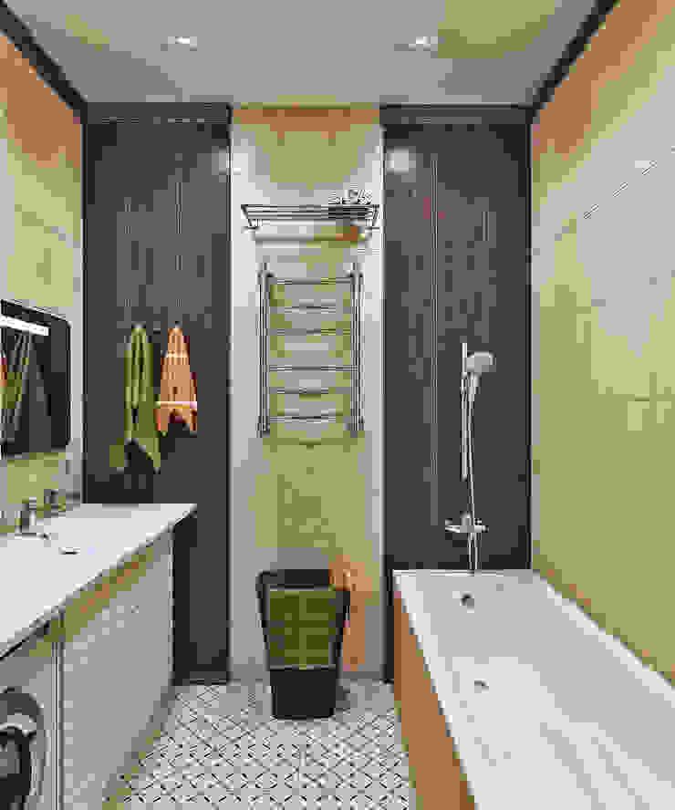 Ванная комната Ванная комната в стиле модерн от Pure Design Модерн Плитка