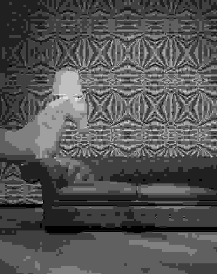Tecido de Madeira por OH Wallpaper Moderno Papel