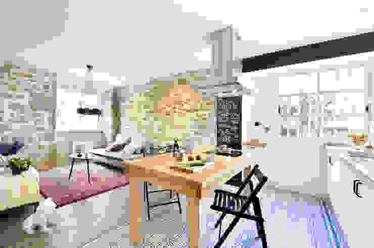 A Coruña for rent! Comedores de estilo moderno de Egue y Seta Moderno