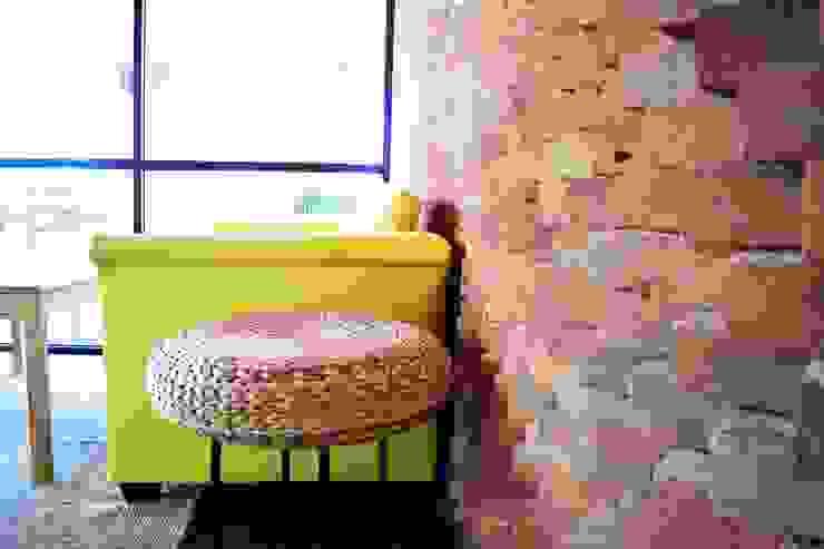 Besame Mucho Café, Chocolate y Churros Gastronomía de estilo moderno de Grupo ARK+OS Arquitectos Moderno Ladrillos