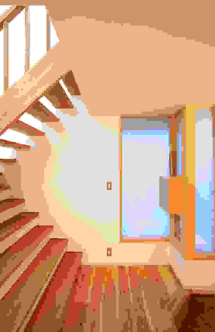 静岡の家 case004 オリジナルスタイルの 玄関&廊下&階段 の 岩川アトリエ オリジナル