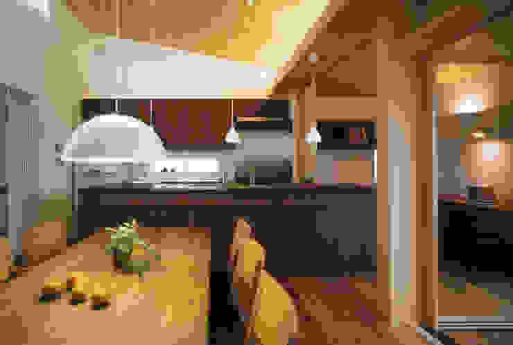 静岡の家 case004 オリジナルデザインの キッチン の 岩川アトリエ オリジナル